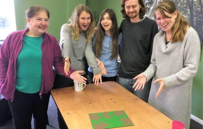 social entrepreneurs solve puzzle
